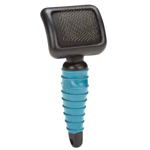 Ergonomic Soft Slicker Brush