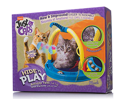 Just for Cats Hide' N Play Cat Toy