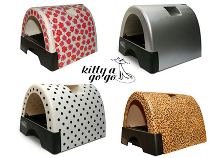 Kitty A Go Go Cat Litter Box