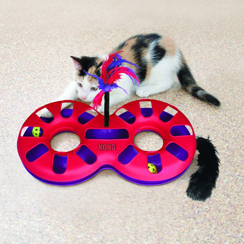 Eight Track Cat Toy by Kong